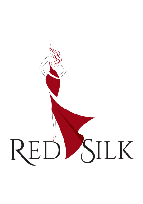 RED SILK SMALL LOGO